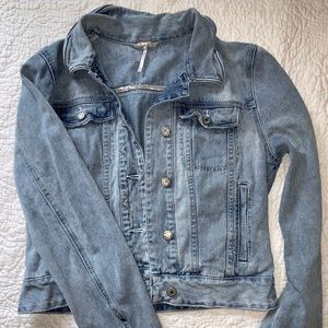 Free People Jean Jacket